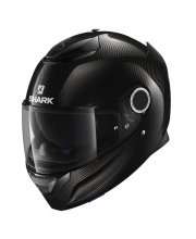 Shark Spartan Carbon Skin Motorcycle Helmet Black At JTS Biker Clothing