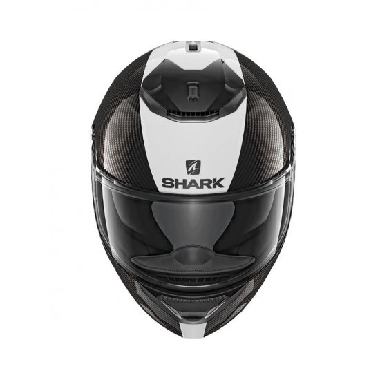 Shark Spartan Carbon Skin Motorcycle Helmet White