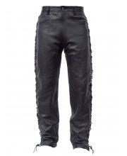 JTS Diesel Laced-Sided Leather Jean