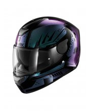 Shark D-Skwal Motorcycle Helmet Dharkov at JTS Biker Clothing