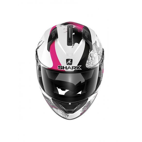 Shark Ridill White Motorcycle Helmet