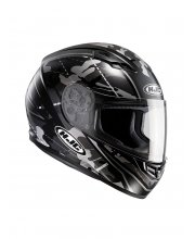 HJC CS-15 Songtan Black Motorcycle Helmet at JTS Biker Clothing