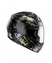HJC CS-15 Songtan Hi-Vis Motorcycle Helmet at JTS Biker Clothing