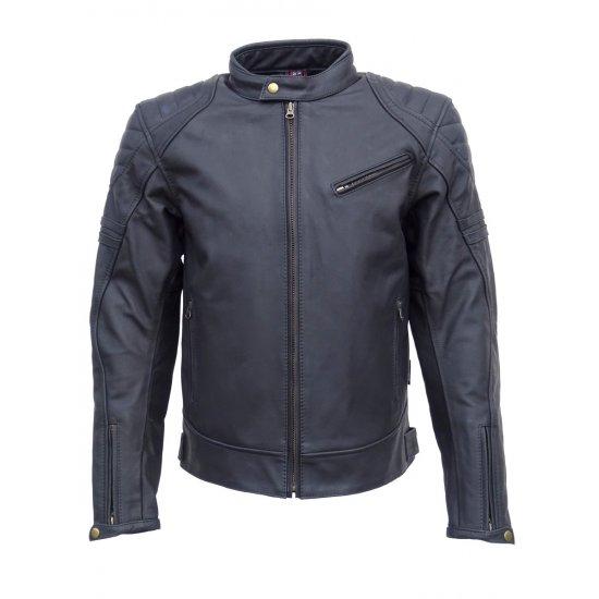 Jts Hero Leather Retro Motorcycle Jacket Free Uk
