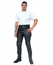 JTS 9103 Mens Leather Motorcycle Trouser