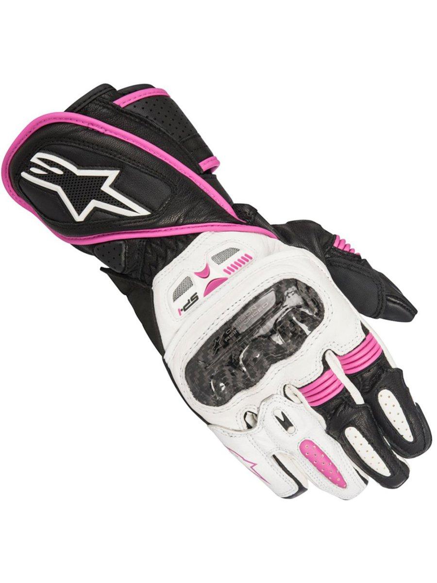 Motorcycle gloves pink - Alpinestars Stella Sp 1 Ladies Motorcycle Gloves