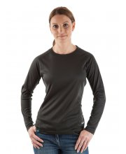 EDZ All Season Long Sleeved Ladies Top Black