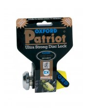 Oxford Patriot Disc Lock Long Pin
