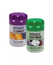 Nikwax Tech Wash & TX Direct Twin Pack 150ml
