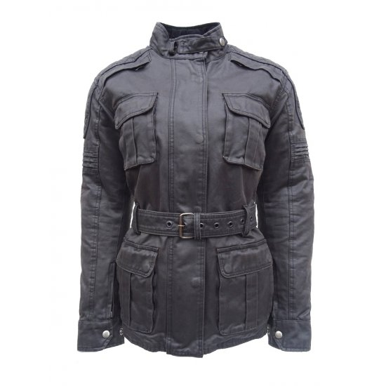 JTS Ladies Lacey Wax Cotton Jacket