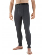 EDZ Merino Wool Mens Base Layer Leggings Graphite