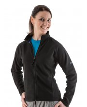 EDZ Ladies MicroFleece Midlayers Black