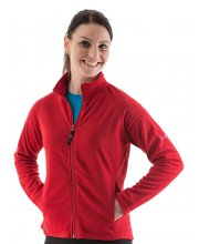 EDZ Ladies MicroFleece Midlayers Red