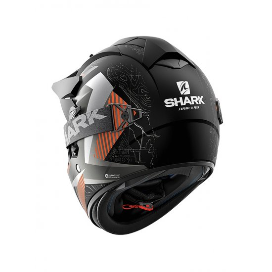 Shark Explore-R Peka Motorcycle Helmet