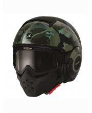 Shark Raw/Drak Kurtz Motorcycle Helmet