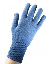 EDZ Merino Wool Liner Gloves Blue