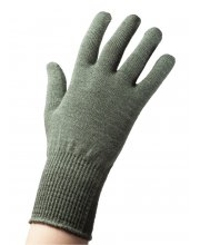EDZ Merino Wool Liner Gloves Olive Green