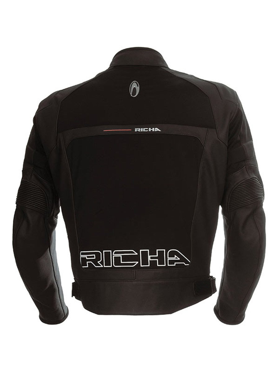 Leather motorcycle jacket uk