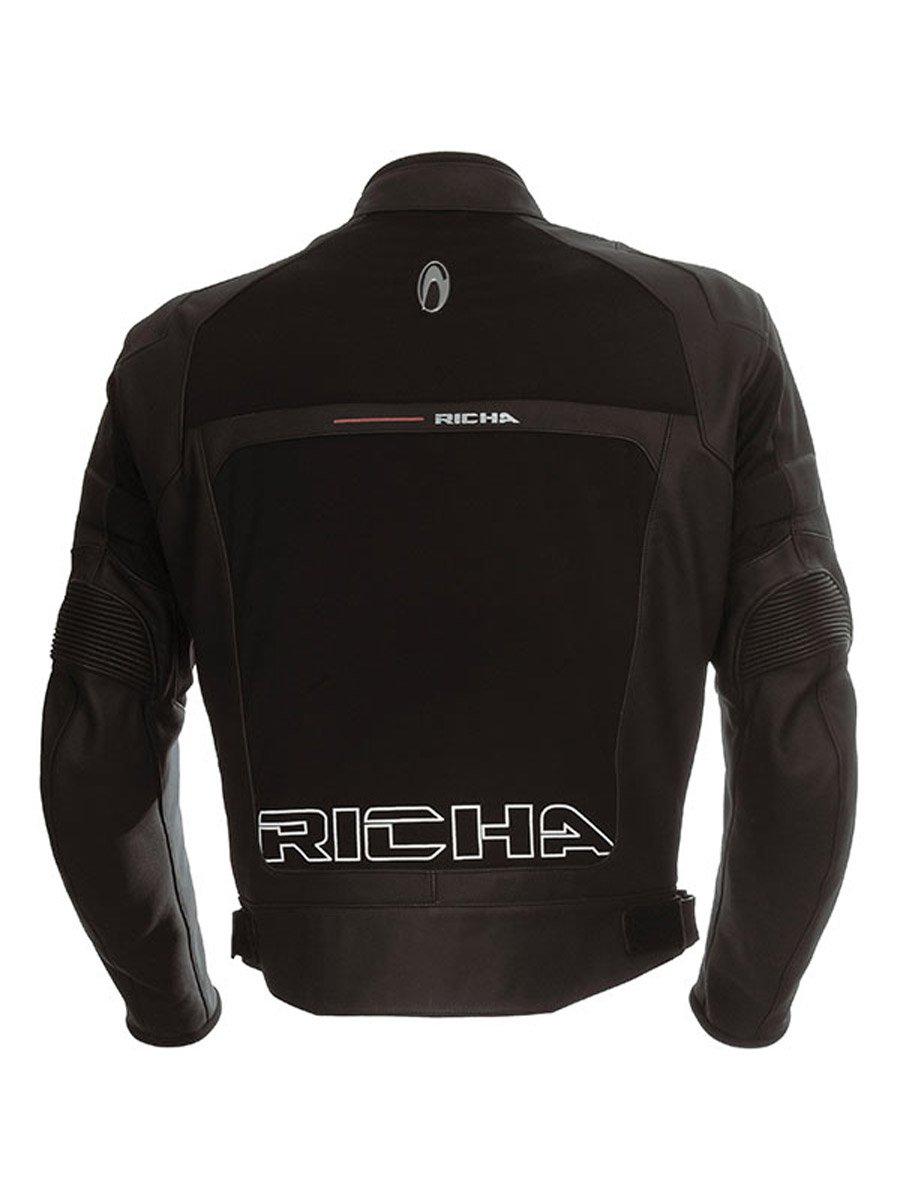 Waterproof leather motorcycle jackets