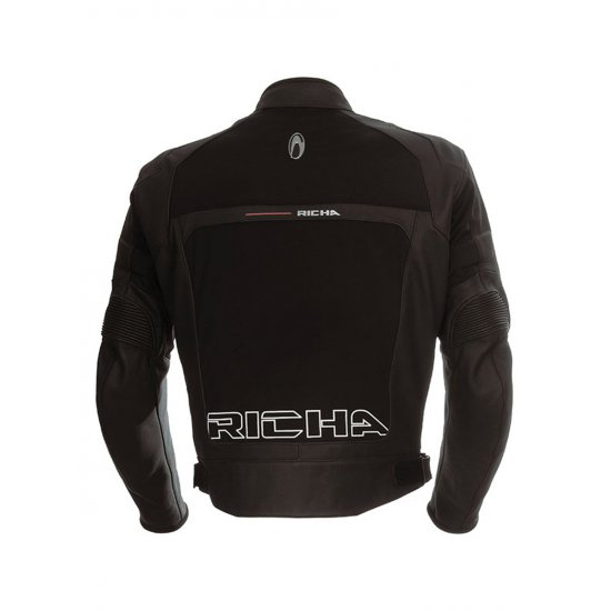 Richa Rex Leather Motorcycle Jacket