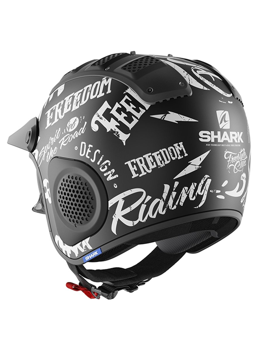 Shark X Drak Freestyle Cup Motorcycle Helmet Free Uk