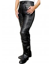 JTS 633 Ladies Leather Trousers