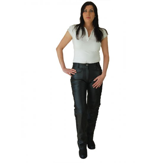 JTS 113 Ladies Leather Laced Sided Jean