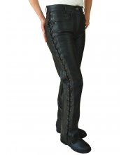 JTS 113 Ladies Leather Laced Jean