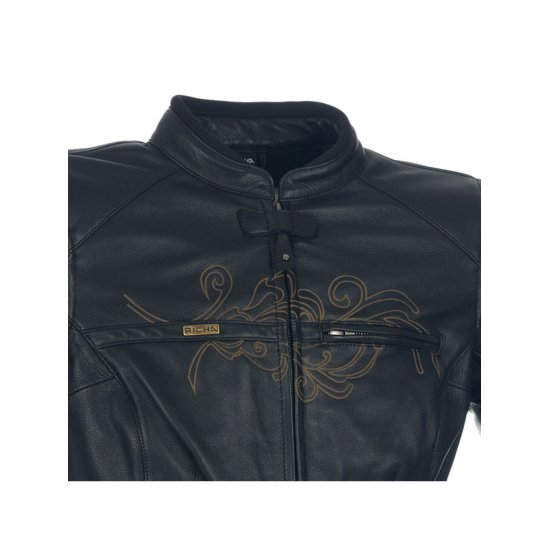 Richa Montana Leather Motorcycle Jacket