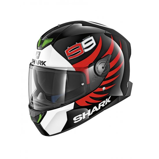 Shark Skwal 2 Lorenzo Motorcycle Helmet - FREE UK DELIVERY & EXCHANGES - JTS Biker Clothing