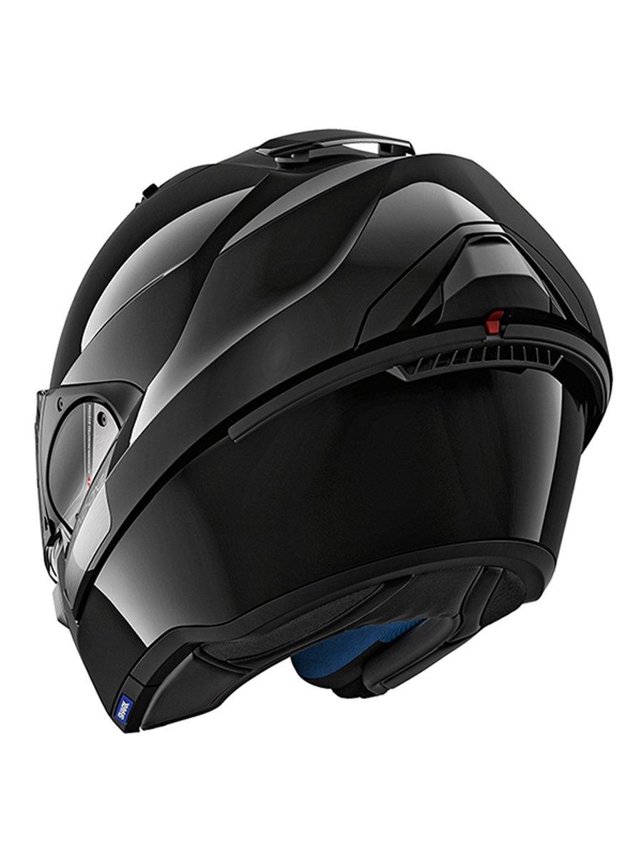 shark evo one 2 blank motorcycle helmet free uk delivery exchanges jts biker clothing. Black Bedroom Furniture Sets. Home Design Ideas
