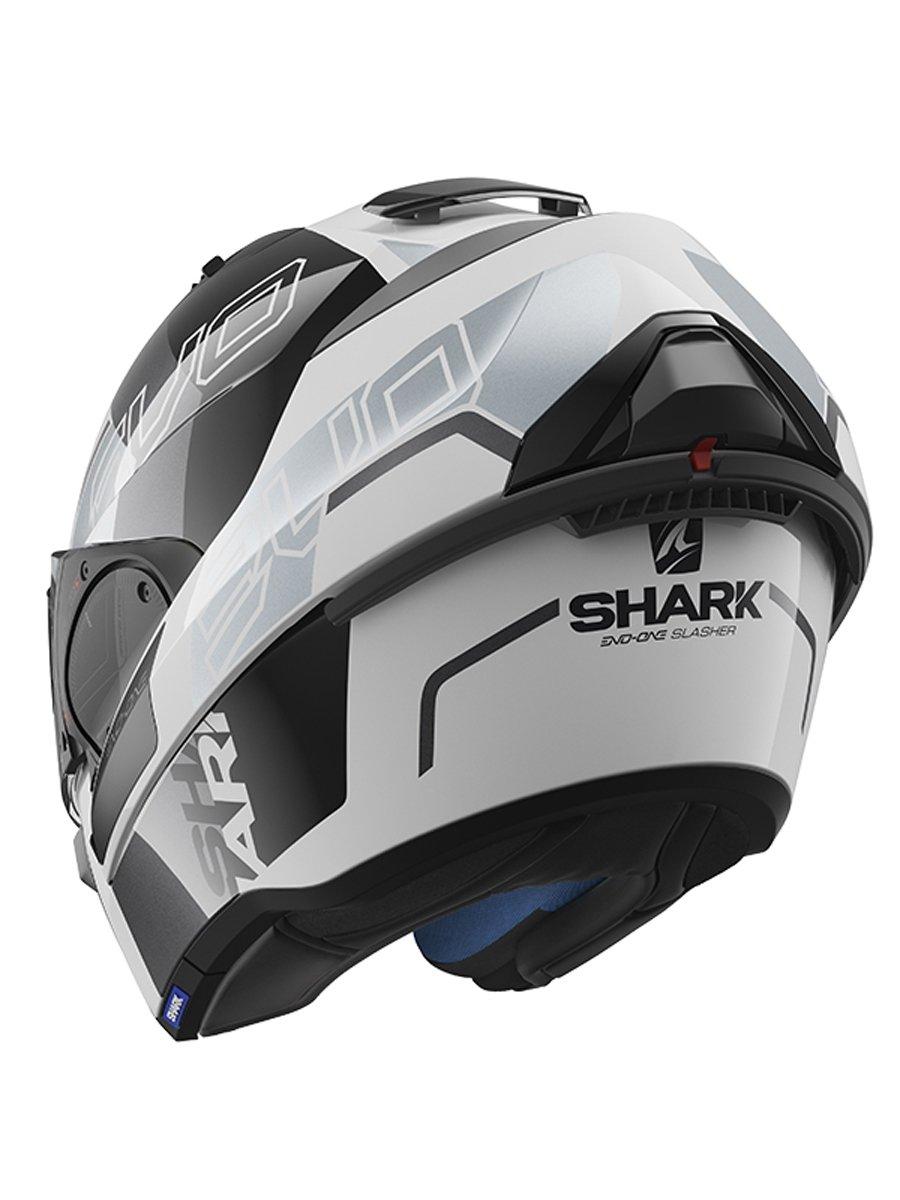 shark evo one 2 slasher motorcycle helmet free uk delivery exchanges jts biker clothing. Black Bedroom Furniture Sets. Home Design Ideas