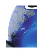 Oxford Spider Super Thin Motorcycle Tank Pad Carbon