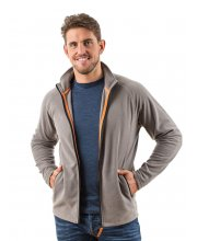EDZ Mens MicroFleece Midlayer Jacket