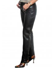 JTS 1716 Ladies Leather Motorcycle Trousers