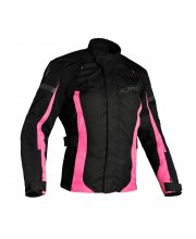 Richa Biarritz Ladies Textile Motorcycle Jacket Pink