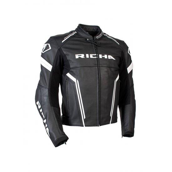 Richa Monza Leather Motorcycle Jacket Free Uk Delivery