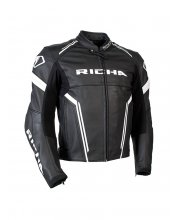 Richa Monza Leather Motorcycle Jacket