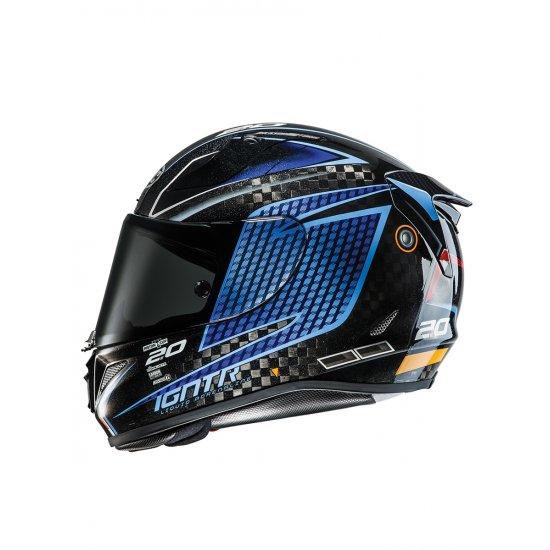 hjc rpha 11 jackson storm disney pixar carbon motorcycle helmet free uk delivery exchanges. Black Bedroom Furniture Sets. Home Design Ideas