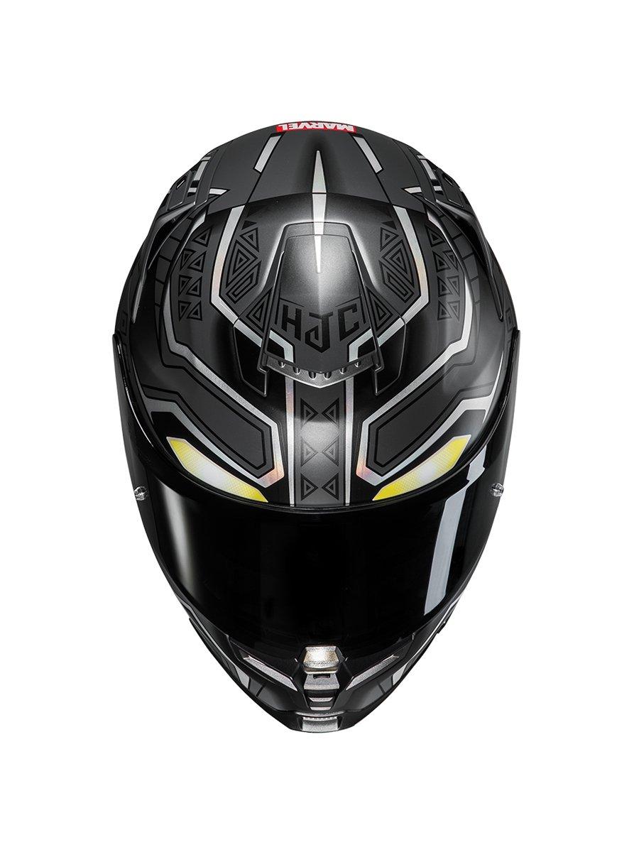 hjc rpha 70 black panther motorcycle helmet free uk. Black Bedroom Furniture Sets. Home Design Ideas