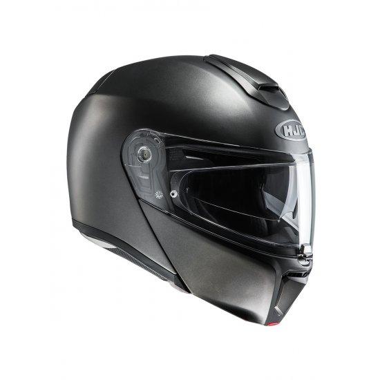 hjc rpha 90 blank motorcycle helmet free uk delivery exchanges jts biker clothing. Black Bedroom Furniture Sets. Home Design Ideas