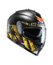 HJC IS-17 Shapy Yellow Motorcycle Helmet at JTS Biker Clothing