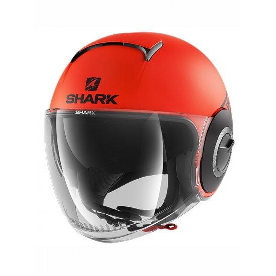 Shark Nano Neon Matt Motorcycle Helmet Free Uk Delivery