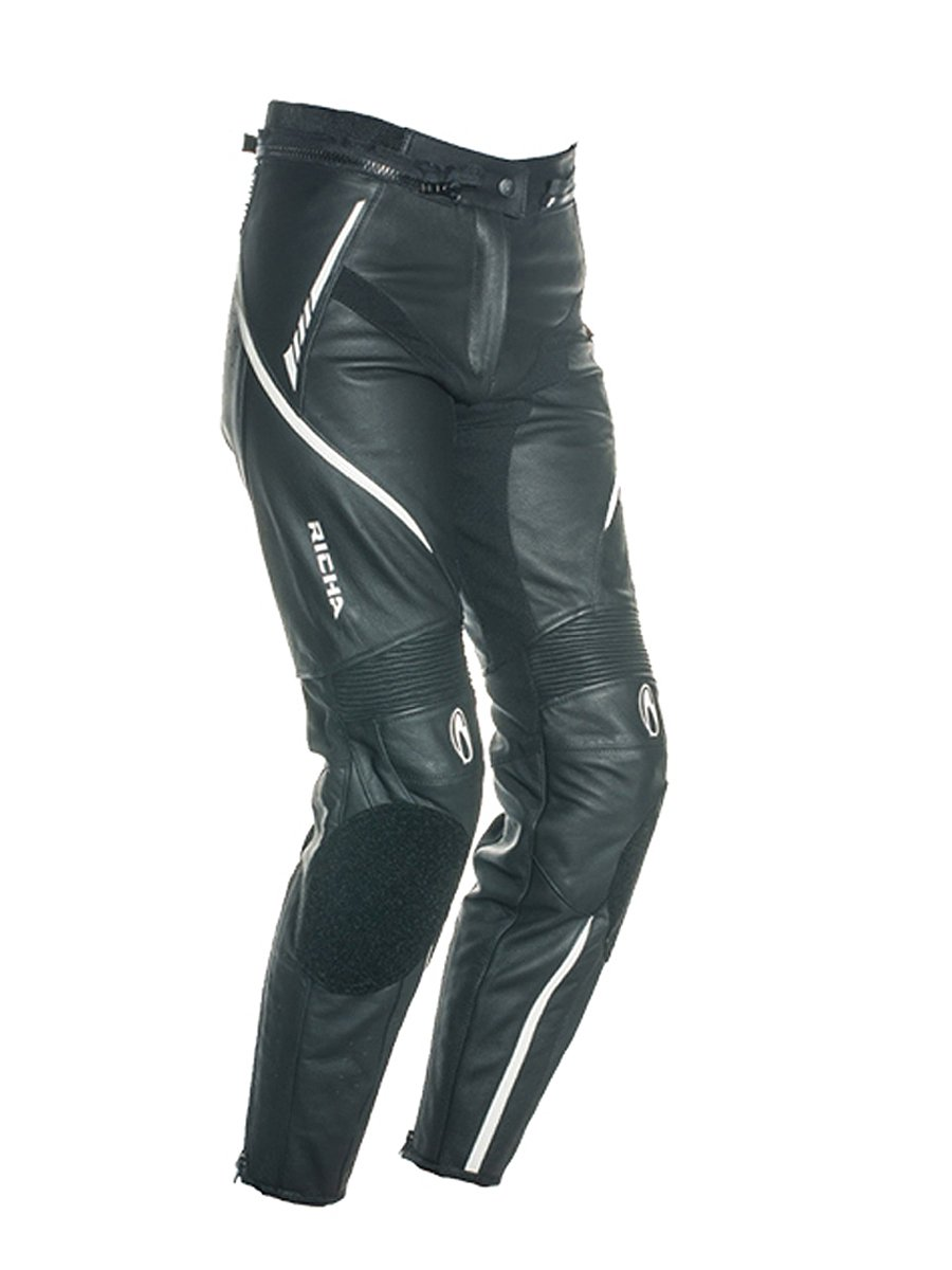 4252c4eac8e0 Leather Motorcycle Trousers fro Ladies - JTS Biker Clothing