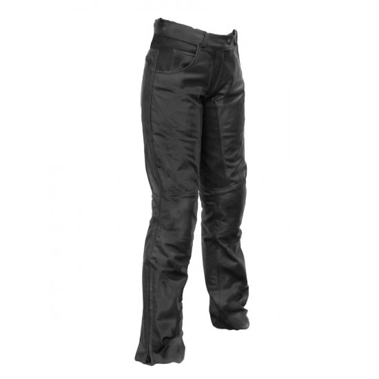 Richa Carolina Ladies Leather Motorcycle Trousers