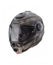 Caberg Droid Iron Flip Front Motorcycle Helmet at JTS Biker Clothing