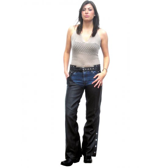 JTS Ladies 3032 Leather Chaps