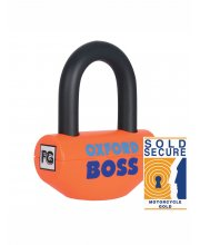 Oxford Boss Disc Lock 12.7mm Orange