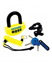 Oxford Boss Disc Lock 12.7mm Yellow