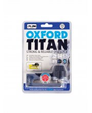 Oxford Titan Tough & Reliable Motorcycle Disk Lock